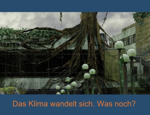 "Photoshop-Collage ""Der Klimawandel"""