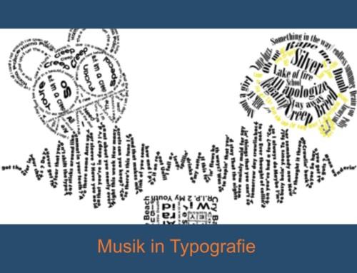 Musik und Typografie